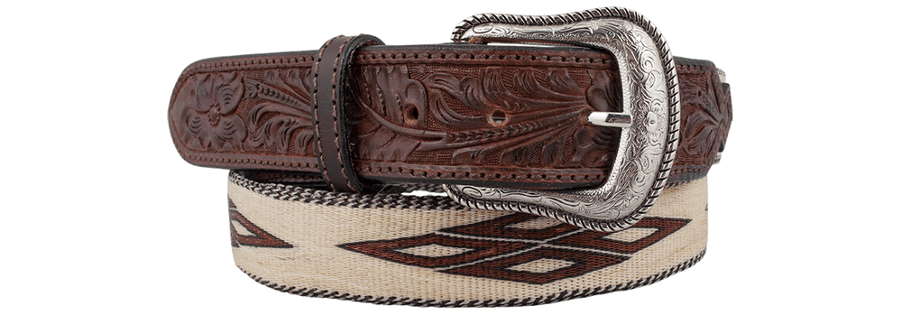Genuine Horsehair Belt - Chocolate