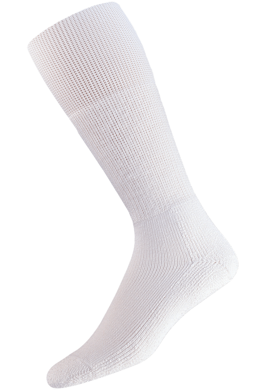 Thorlo Extra Large White Western Dress Socks