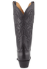 Lucchese Women's Black Ranch Hand Boots - Back