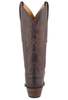 Lucchese Women's Chocolate Ranch Hand Boots - Back