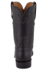 Lucchese Men's Black Ranch Hand Roper Boots - Back