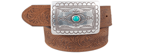 Navajo Spirit Belt - Brown