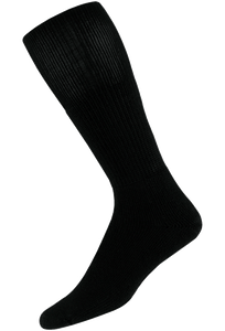 Thorlo Large Black Western Dress Socks