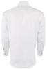 Stubbs Men's Stand-Up Collar Shirt - White - Back