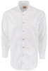 Stubbs Men's Stand-Up Collar Shirt - White - Front