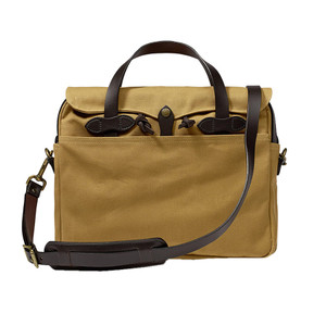 Filson Briefcase - Dark Tan