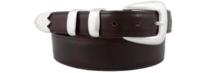 "Goat 1 1/4-1"" Tapered Belt - Black Cherry"