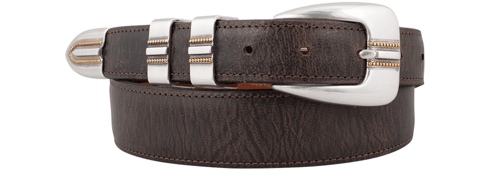 Mad Dog Goat Tapered Belt - Chocolate
