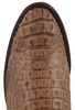Lucchese Men's Tan Mad Dog Hornback Caiman Boots - Toe