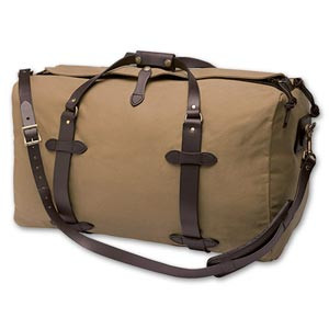 Filson Medium Duffle Bag - Dark Tan