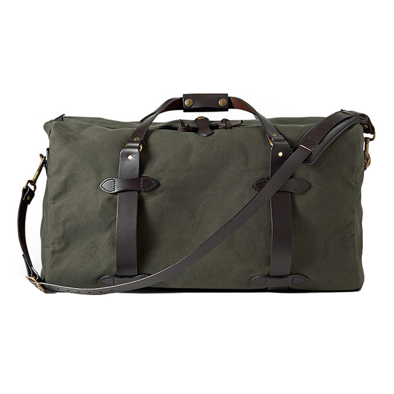 Filson Medium Duffle Bag - Otter Green - Side 1