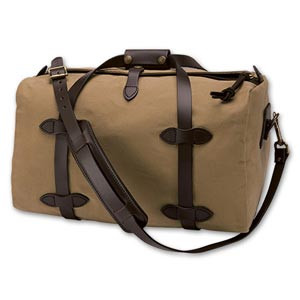 Filson Small Duffle Bag - Dark Tanl