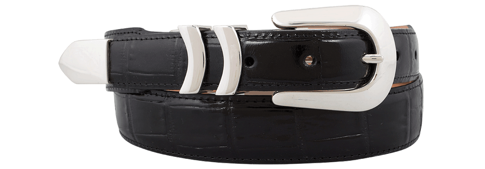 Catera Croc Belt - Black