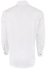 Stubbs Men's Solid Color Shirt - White - Back