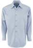 Stubbs Men's Solid Color Shirt - Light Blue - Front