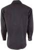 Stubbs Men's Solid Color Shirt - Black - Back