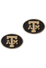 Texas A&M University Gold and Silver Cufflinks - Front