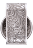 University of Texas Bevo Cinco Peso Engraved Money Clip - Back