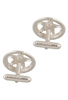 Pinto Ranch 3D Dome Star Cufflinks - Back