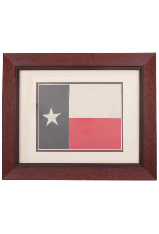 Flag - State of Texas Historic Flag Print