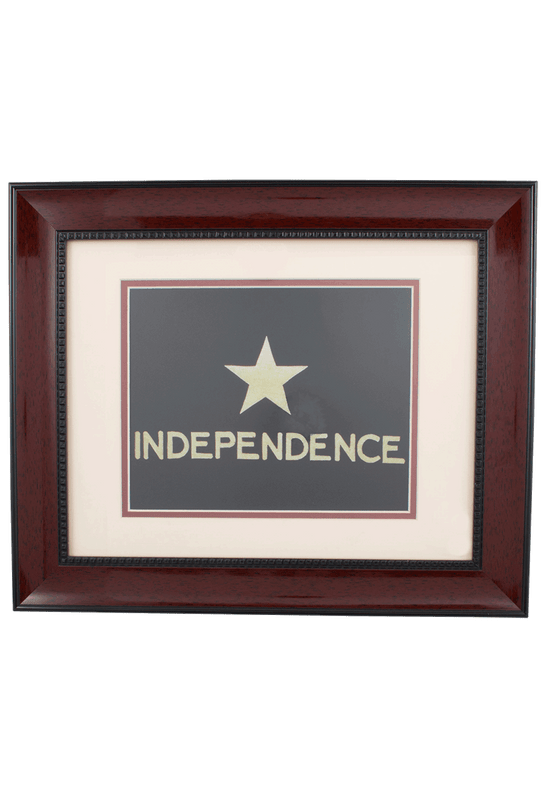 Flag - Flag of Independence Historic Flag Print
