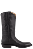 Lucchese Men's Black Baby Buffalo Roper Boots - Side
