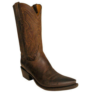 Lucchese Men's Chocolate Mad Dog Goat Boots