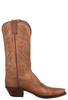 Lucchese Women's Tan Mad Dog Boots - Side