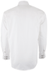 Miller Ranch Solid White Snap Shirt - Back