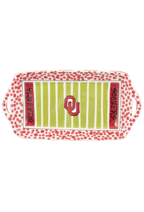 University - University of Oklahoma Stadium Platter