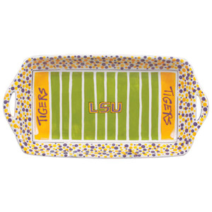 University - Louisiana State University Stadium Platter