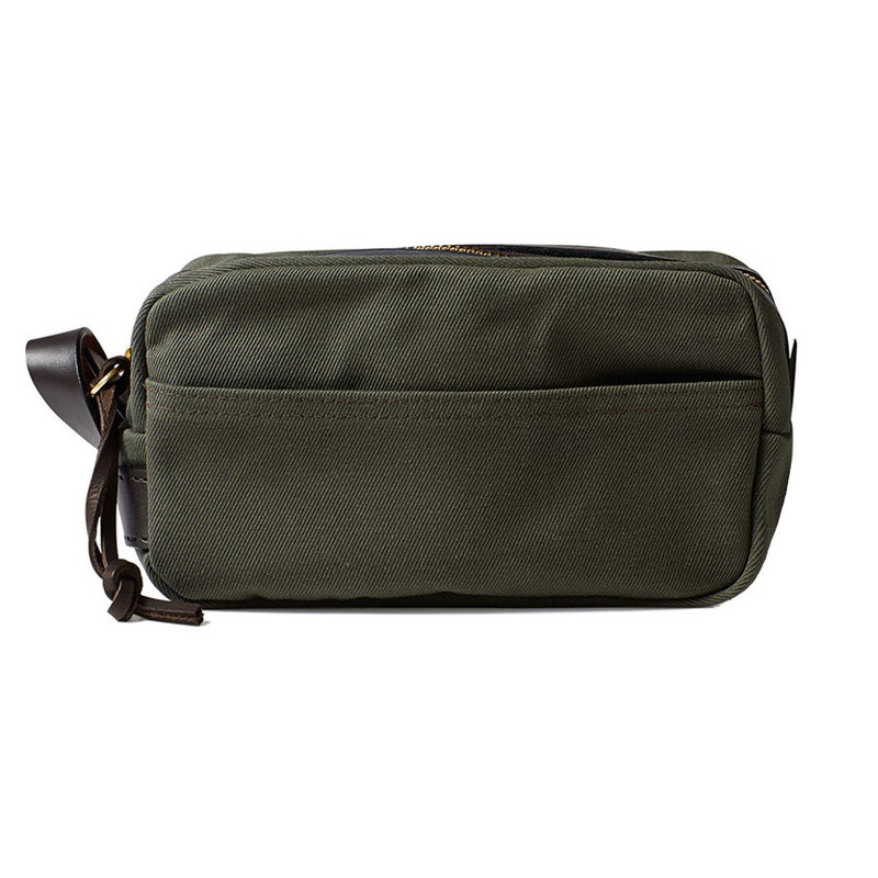 Filson Travel Kit - Otter Green - Front