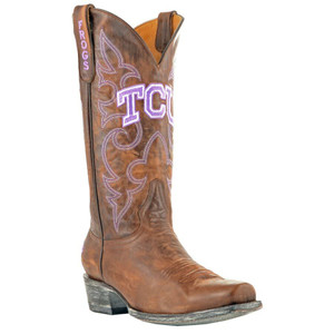 Gameday Men's Texas Christian University Boots