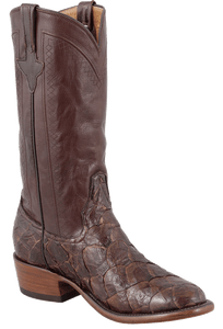 Rios of Mercedes Men's Chocolate Pirarucu Boots - Hero
