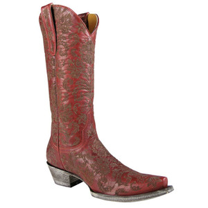 "Old Gringo Ladies ""Nadia"" Boots - Red"