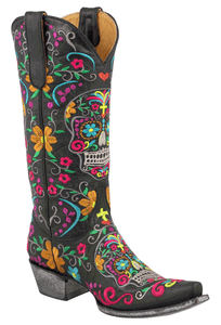 Old Gringo Women's Klak Black Boots - Hero