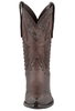 Stallion Women's Chocolate Western Tooled Boots - Front