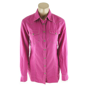 Ryan Michael Whipstitch Star Snap Western Shirt