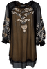 Vintage Collection Champagne Tunic - Front