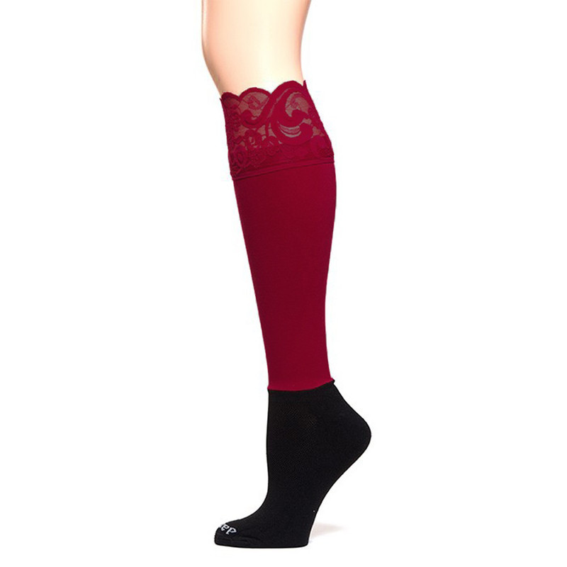 Bootights Lacie Lace Darby - Maroon