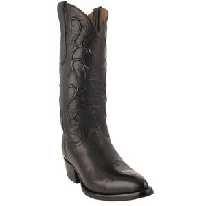 Benchmark by Old Gringo Men's Black Florence Buffalo Calf Pecos Boots - Hero