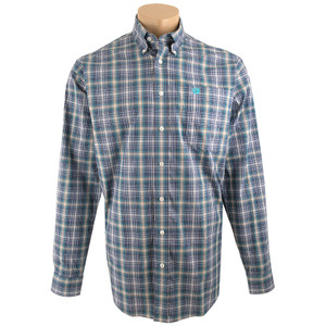 Cinch Blue Plaid Shirt