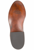 Lucchese Men's Barnwood Smooth Ostrich Roper - Bottom