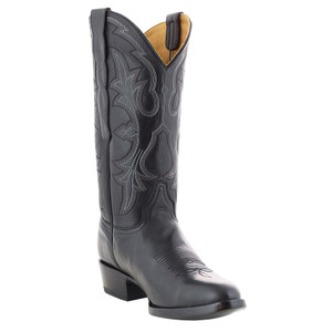 Benchmark by Old Gringo Men's Black Calf Ohio Boots - Hero
