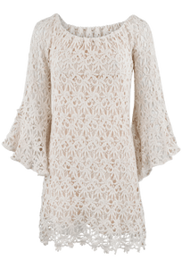 Union of Angels Tristan Crochet Dress - Front