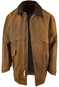 Filson Tin Cloth Packer Coat - Tan - Hero