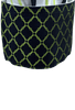 CINCH WHITE WITH LIME AND NAVY STRIPES SHIRT- CUFF