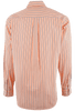 CINCH ORANGE WITH CHARCOAL AND WHITE SHADOW STRIPE SHIRT-BACK
