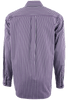 Cinch Purple with Silver Stripes Shirt - Back