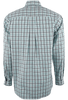 CINCH WHITE WITH GREEN AND BLACK PLAID SHIRT-BACK